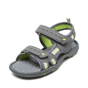 OSWIN/奥思文鞋柜男童休闲凉鞋透气 防滑减震 儿童休闲沙滩鞋男童鞋