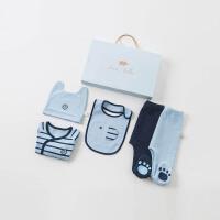 [8.5-8.9特惠3折价:119.1]戴维贝拉童装秋季新款婴幼儿礼盒宝宝5件套礼盒DBH10065