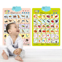 有声挂图儿童早教启蒙认知宝宝语音发声看图识字卡0-3岁益智玩具