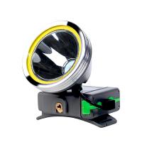 LED头灯强光远射充电锂电池大功率矿灯户外亮钓鱼灯头戴式夜钓灯手电筒骑行照明防水