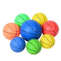 儿童小皮球幼儿园拍拍球手抓球足球小篮球充气玩具球