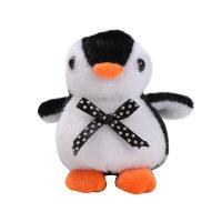 新款企鹅公仔挂件彩色小企鹅毛绒玩具11CM抓机玩偶布娃娃
