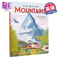 【中商原版】Chris Madden:山脉Mountains (World of Wonder) 精品绘本 儿童科普绘本