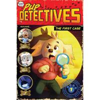 第一个案例 Pup Detectives#1 The First Case 英文原版进口 小学生课外拓展阅读桥桥梁章节书
