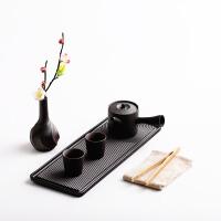 茶盘套装 陶瓷枯山水茶台 功夫茶具干泡盘套组