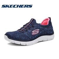 【*注意鞋码对应内长】Skechers斯凯奇 女鞋 套脚训练鞋 轻质针织 运动鞋 12418