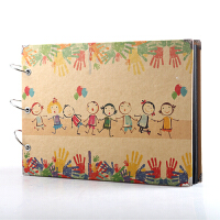 DIY相册 diy相册影集手工粘贴式DIY制作家庭情侣儿童5寸6寸照片通用