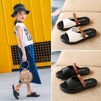 儿童拖鞋夏季新款女童凉拖鞋小孩时尚拖鞋女孩一字拖