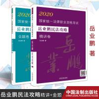 2册组合:2020国家统一法律职业资格考试岳业鹏民法攻略 精讲卷+金题卷 中国法制出版社