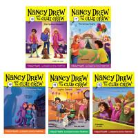 【全店300减100】Nancy Drew 英文原版进口 侦探故事南茜朱尔6-10册美国 青少年章节桥梁书学生课外英语阅
