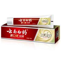 云南白药牙膏 金口健牙膏(口清新)(纯青普洱)105g