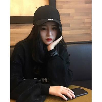 鸭舌帽子男女潮韩版街头运动嘻哈帽黑色字母棒球帽 黑色 CAP 现货秒发 可调节 发货周期:一般在付款后2-90天左右发货,具体发货时间请以与客服协商的时间为准