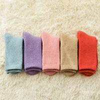 情侣棉袜子冬季加厚加绒保暖男女中筒袜韩版纯棉运动毛巾袜冬天潮 均码