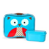 美国SKIP HOP 动物园儿童餐盘 午餐盒 宝宝饭盒 便当盒餐具