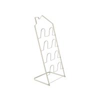 【网易严选年货节 7折专区】房型折叠拖鞋架