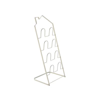 【2.16网易严选超品日 7折专区】房型折叠拖鞋架竖立收纳,节约空间