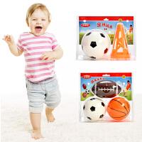 宝宝玩具球运动户外玩具充气球儿童篮球足球小皮球拍拍球