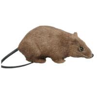 新款会叫灰色仿真老鼠假耗子模型整人小礼物吓人动物恶搞整蛊玩具