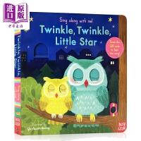 【中商原版】Sing Along With Me! Little Star 跟我唱系列 亮晶晶的小星星 低幼认知启蒙操作