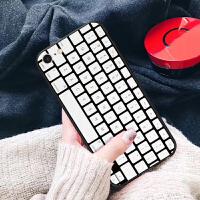 磨砂硬壳套键盘 苹果x手机壳iphone7plus/8/6s/5se女款情侣外壳
