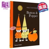 【中商原版】巴顿与波普 英文原版Button & Popper精装 故事绘本 3-6岁Oili Tanninen