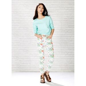 【2件2.5折到手价:8.75】美特斯邦威女装超级紧身牛仔长裤246527
