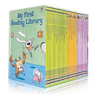 【送音频】My First Reading Library 英文原版 我的第一个图书馆 50册礼品盒装 少儿英语绘本 分级阅读故事图文书 启发想象力创造思维 5-6-7-8岁