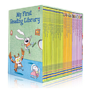送音频 My First Reading Library 英文原版 我的第一个图书馆 50册礼品盒装 少儿英语绘本 分级阅读故事图文书 启发想象力创造思维 5-6-7-8岁 自然拼读发学习 独立阅读培养