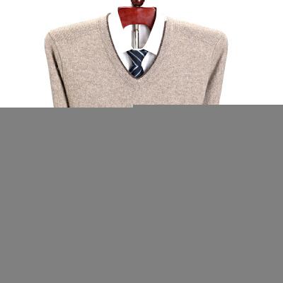 纯羊绒衫男V领加厚中年商务鸡心领羊毛衫爸爸毛衣 发货周期:一般在付款后2-90天左右发货,具体发货时间请以与客服协商的时间为准