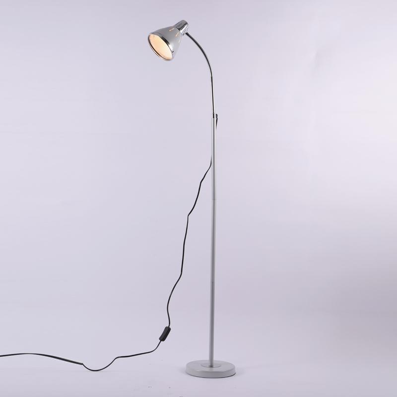 落地灯卧室客厅北欧现代简约床头灯创意书房立式台灯落地台灯 A款银色(5瓦LED灯泡 默认黄光) 发货周期:一般在付款后2-90天左右发货,具体发货时间请以与客服协商的时间为准