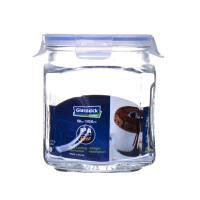 Glasslock 三光云彩韩国原装进口保鲜盒玻璃罐奶粉罐茶叶密封罐零食罐1500ml IP591