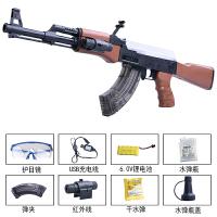 电动连发水珠弹抢ak47突击模型绝地吃鸡求生儿童玩具枪装备儿童节礼物
