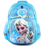 迪士尼 冰雪奇缘卡通背包 小学生1-4年级儿童背包女童双肩包SP20298