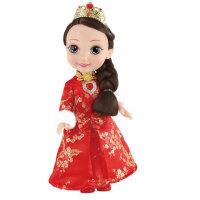 挺逗 冰雪奇缘  冰雪公主智能对话唱歌娃娃儿童玩具 新年娃娃66040