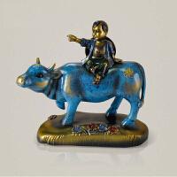 牧童骑牛摆件树脂工艺品摆设家居装饰品开业礼品