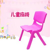门扉 凳子 加厚儿童桌椅塑料凳子宝宝学习小凳子幼儿园桌椅儿童塑料靠背椅子