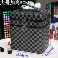 化妆包大容量多功能韩国便携简约手提化妆箱双层化妆品收纳盒