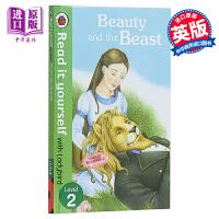 【中商原版】小飘虫独立阅读系列:美女与野兽Beauty and the Beast 独立阅读 分级读物 亲子绘本 故事