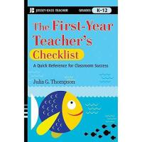 【预订】The First-Year Teacher'S Checklist: A Quick