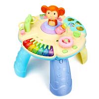�和�多功能游�蜃�W�桌1-3周�q������早教智力玩具�_�Y物