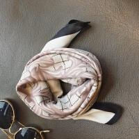 2018春季新款丝巾韩版女士小方巾仿真丝围巾丝巾装饰空姐小领巾