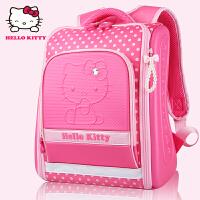 Hello Kitty凯蒂猫 KT1021玫红 韩版小学生书包女童EVA精品儿童书包 当当自营