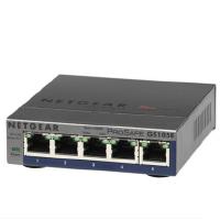 网件NETGEAR GS105E 5口千兆交换机 网络分流器 网线分线器 家用