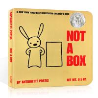 【全店300减100】英文原版创意绘本 Not a Box这不是个箱子 吴敏兰绘本123推荐书单 苏斯奖纸板书 激发想象