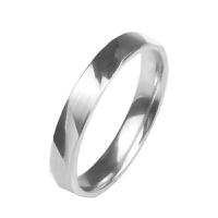 梦克拉 PT950铂金小清新刻面闪耀戒指女款 白金简约指环铂金戒指 印刻