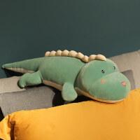 可爱恐龙毛绒玩具公仔抱枕睡觉长条枕床上大娃娃玩偶生日礼物女生