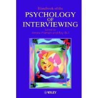【预订】Handbook Of The Psychology Of Interviewing