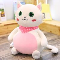 可爱小猫咪公仔布娃娃女孩公主毛绒玩具韩国搞怪女孩睡觉抱枕玩偶