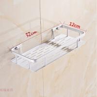 单层太空铝浴室置物架卫生间收纳架化妆品架角架卫浴用品五金挂件
