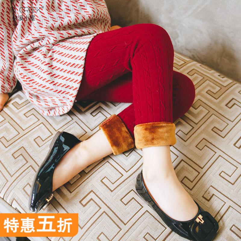童装儿童纯棉毛裤女童加厚打底裤冬装中大童保暖打底裤宝宝加绒裤 发货周期:一般在付款后2-90天左右发货,具体发货时间请以与客服协商的时间为准